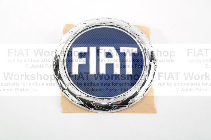 Schwarz-blau Effekt 3D Sitzbezüge für FIAT IDEA Autositzbezug VORNE