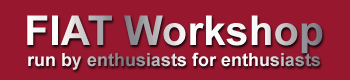 Fiat Workshop Logo
